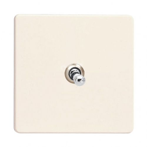 Varilight XDYT7S.PD Screwless Primed 1 Gang 10A Intermediate Toggle Light Switch